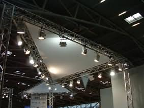 Truss decoration and lighting support